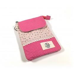 Zauberhafte Vintage Handtasche - pink