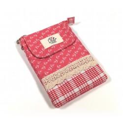Zauberhafte Vintage Handtasche - rot