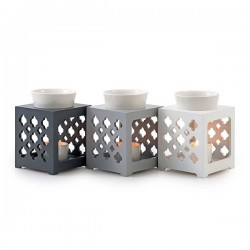 Duftlampe *Marroc* dunkelgrau