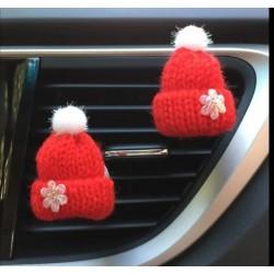Car Diffusor Mütze rot